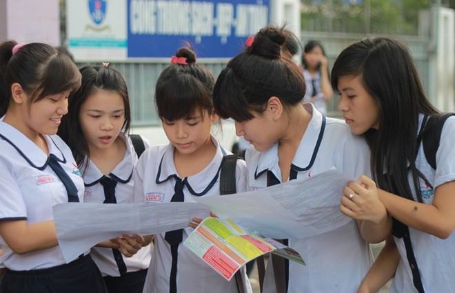 Bộ Giáo dục & Đào tạo công bố lịch thi THPT quốc gia năm 2016