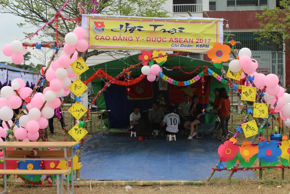 Tưng bừng hội trại chào mừng ngày thành lập Đoàn 26-3