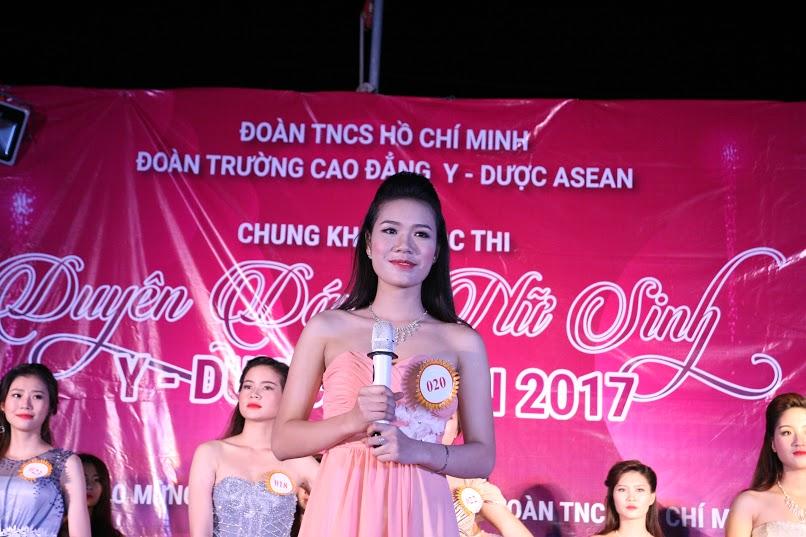 Cô gái Bắc Ninh đăng quang Hoa khôi Y Dược ASEAN năm 2017