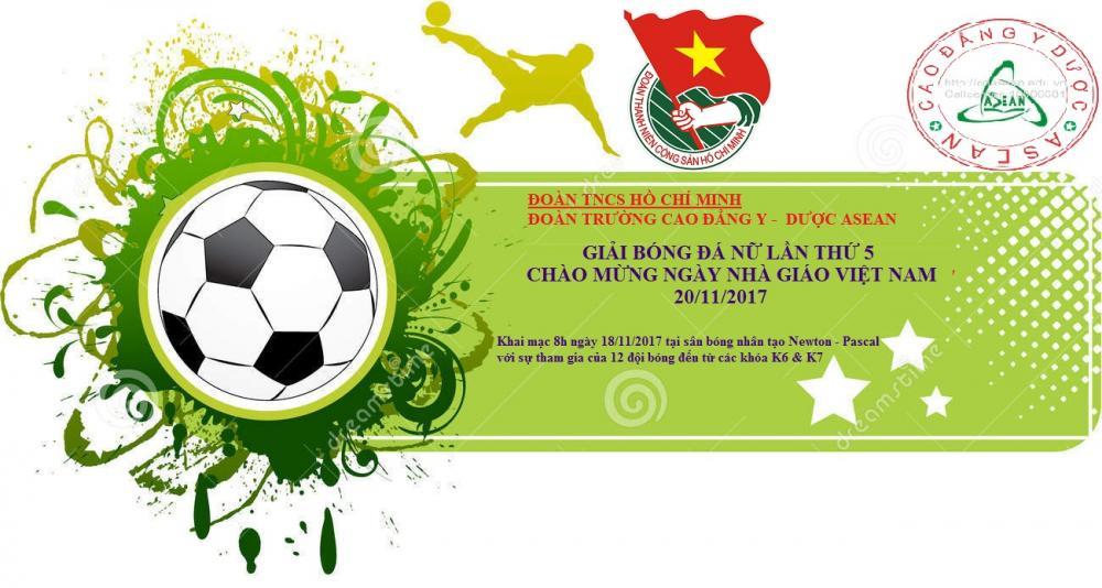 Kế hoạch tổ chức Giải bóng đá Chào mừng 20/11/2017