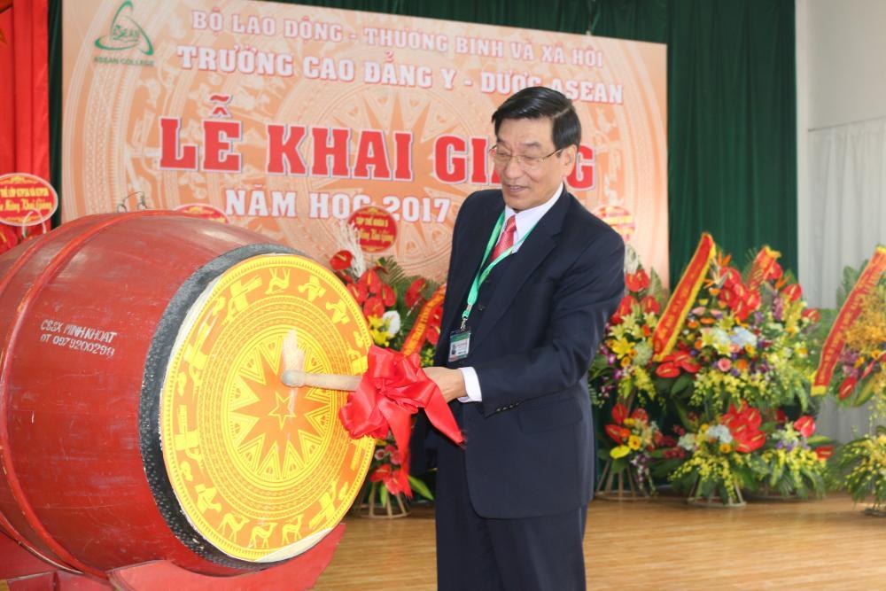 Lễ khai giảng năm học 2017 - 2018 trường Cao đẳng Y - Dược Asean