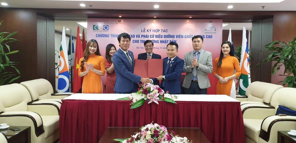 Lễ ký kết hợp tác đào tạo Điều dưỡng Quốc tế giữa ASEAN - C.E.O