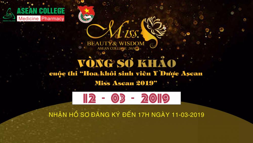 Thông báo cuộc thi Miss Asean 2019