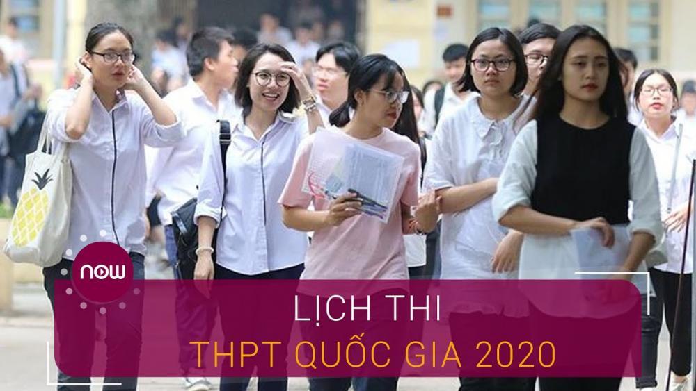 Bộ GD-ĐT công bố lịch thi tốt nghiệp THPT 2020