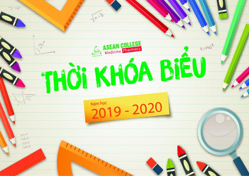 Thời khóa biểu tuần 51 năm học 2019 - 2020