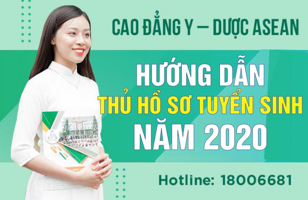 Hướng dẫn thủ tục hồ sơ đăng ký xét tuyển năm 2020