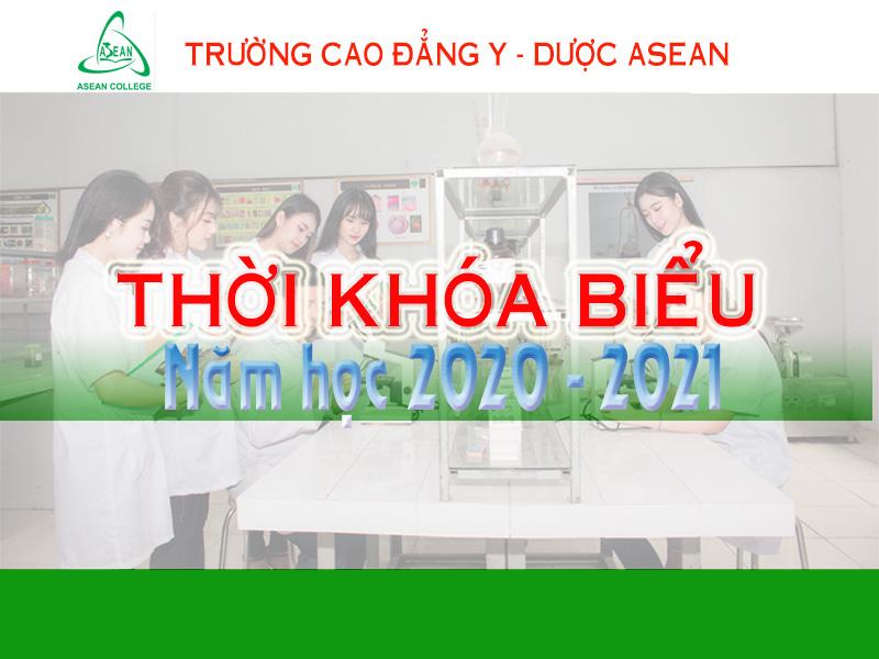 Thời khóa biểu Tuần 9 năm học 2020 - 2021