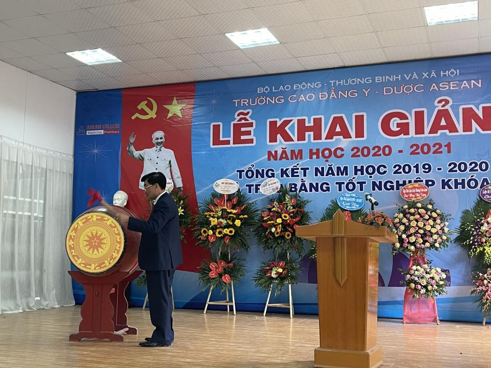 Trường Cao đẳng Y - Dược ASEAN tưng bừng tổ chức Lễ Khai giảng năm học 2020-2021
