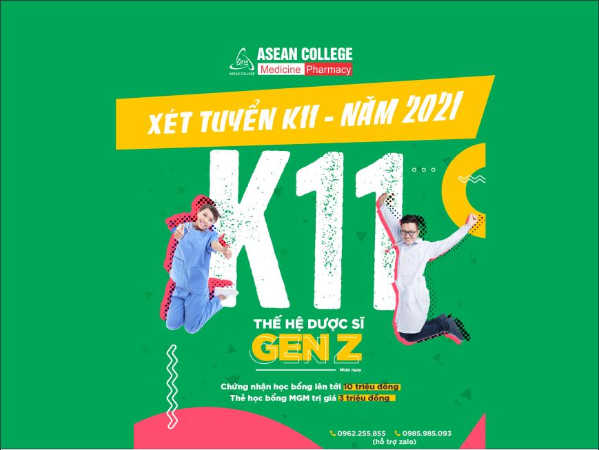 Cập nhật danh sách thí sinh đăng ký xét tuyển đợt 1 năm 2021 (khóa 11)
