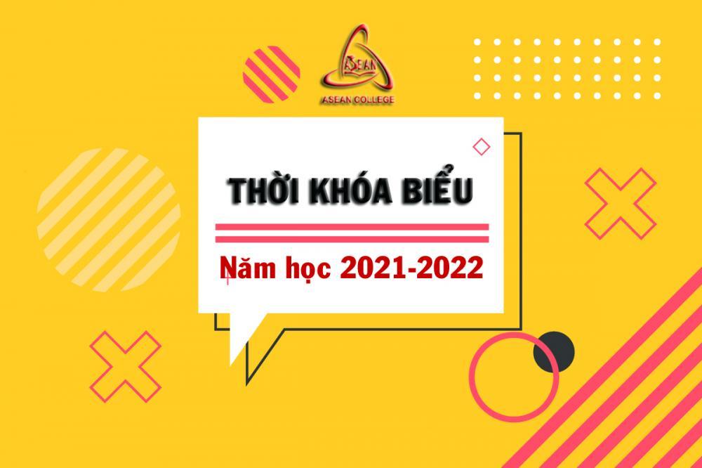 Thời khóa biểu tuần 02 năm học 2021-2022